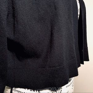 Calvin Klein Sweaters - Calvin Klein Black 3/4 Sleeved Open Sweater NWOT